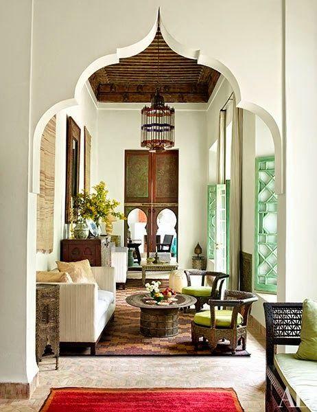 Home tour a breathtaking marrakech family retreat - Decoracion arabe interiores ...
