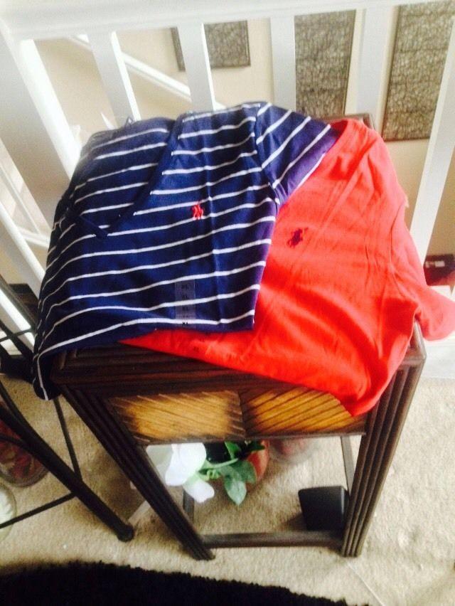 NWT Polo Ralph Lauren Womens Soft V-Neck Jersey Sport Pima T-Shirt  #RalphLauren #BasicTee