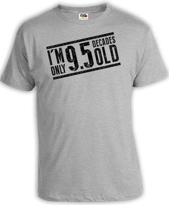 Funny Birthday T Shirt 95th Birthday Gift Ideas For Men Birthday