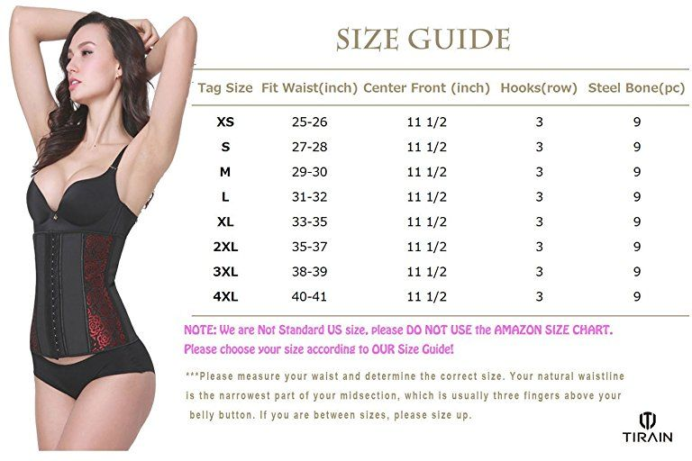 fed5adf15 Womens Waist Trainer Corset Training Cincher Underbust Girdle for Weight  Loss at Amazon Women s Clothing store