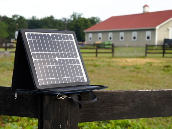 A High Powered Portable Solar Power Station That Charges All Your Gadgets Directly From The Sun With Ou Solar Power Station Portable Solar Power Solar Charger