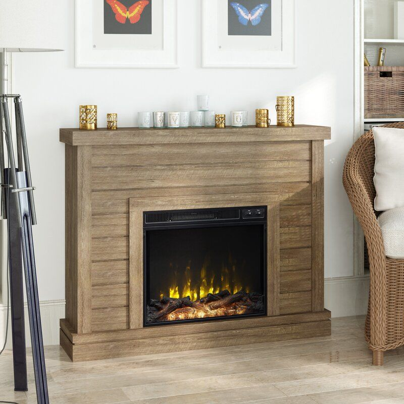 Laurel Foundry Modern Farmhouse Terrence Electric Fireplace & Reviews | Wayfair in 2020 ...