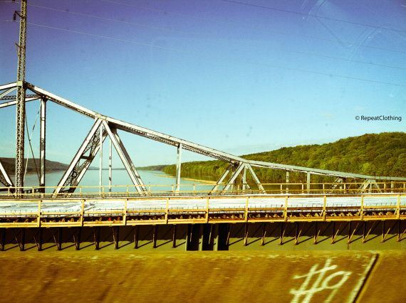 Bridge in Tennessee During Sunny Summer Day by RepeatClothing, $10.00