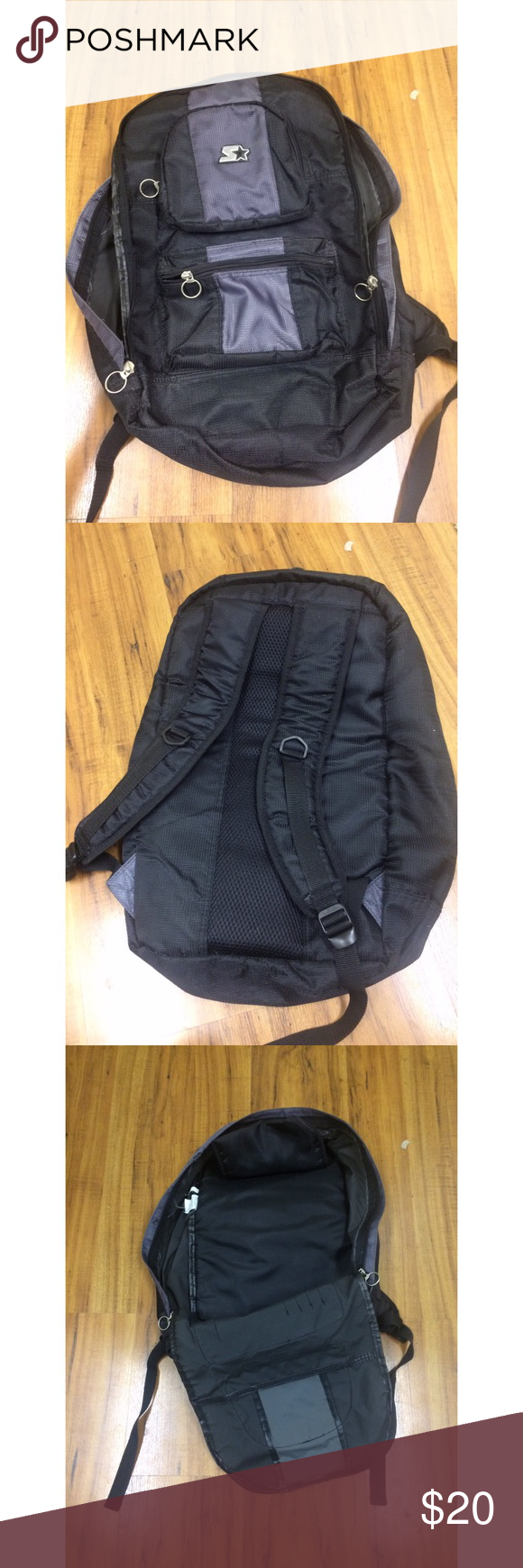 Starter Bagpack Used but very acceptable and in good condition Bags Backpacks
