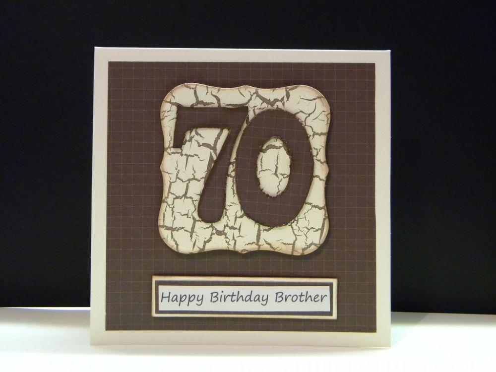 Men S 70th Birthday Cards 70th Birthday Card Birthday Cards For Men Masculine Birthday Cards