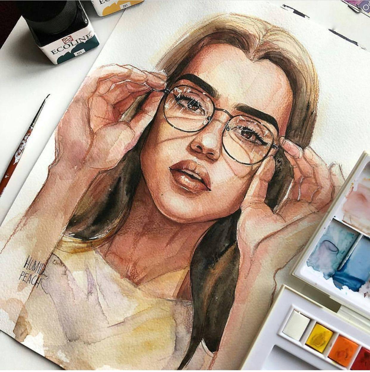 Pinterest Birkadehmelek Watercolor Art Art Watercolor