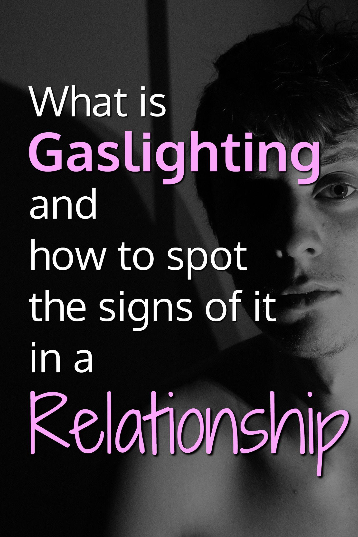gaslighting online dating uppmärksamhet horor på dejtingsajter