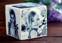 Homemade gift idea: A photo cube diy <--I think even *I* could manage this and ohmyheart, it's stunning! Making this!