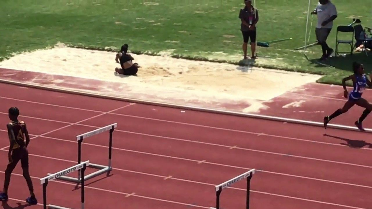 12 Year Old World Record Long Jump Https Youtu Be Oi3bax5n1w4 With Images World Records Old World Long Jump