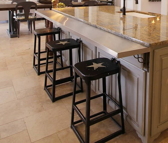 Kitchen Bar Overhang: Kitchen Island Extension
