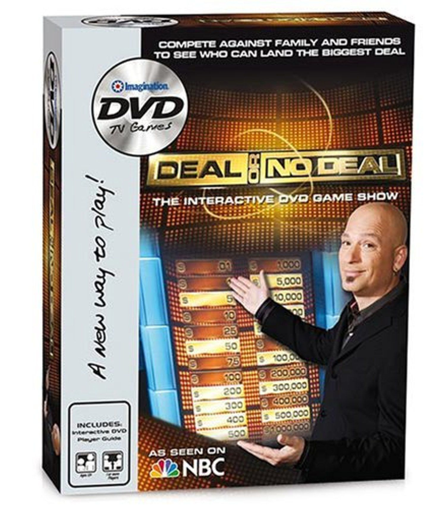 Deal or no deal dvd game by imagination entertainment