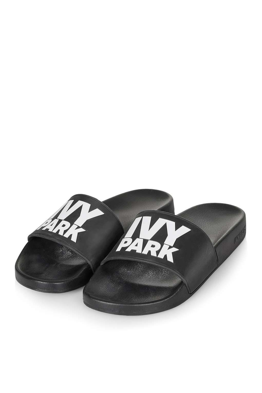Topshop Sandales avec logo, Ivy Park