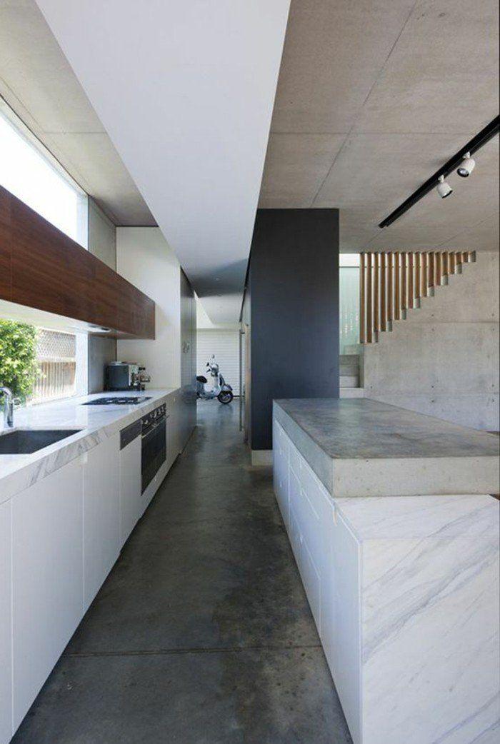 Int rieur en b ton d coratif nos conseils plan de for Beton decoratif interieur