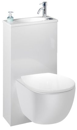 Trio 2 De Leroy Merlin Le Suspendu A Petit Prix Wc Suspendu Pack Wc Suspendu Lave Main Toilette
