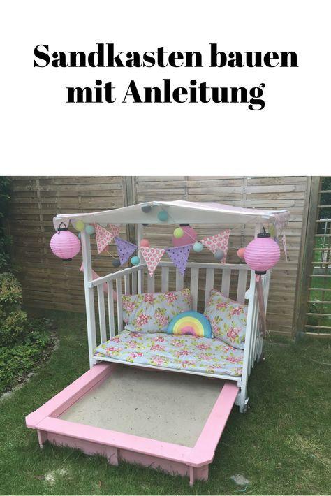 Photo of Wenn Gartenträume wahr werden. Sandkasten DIY