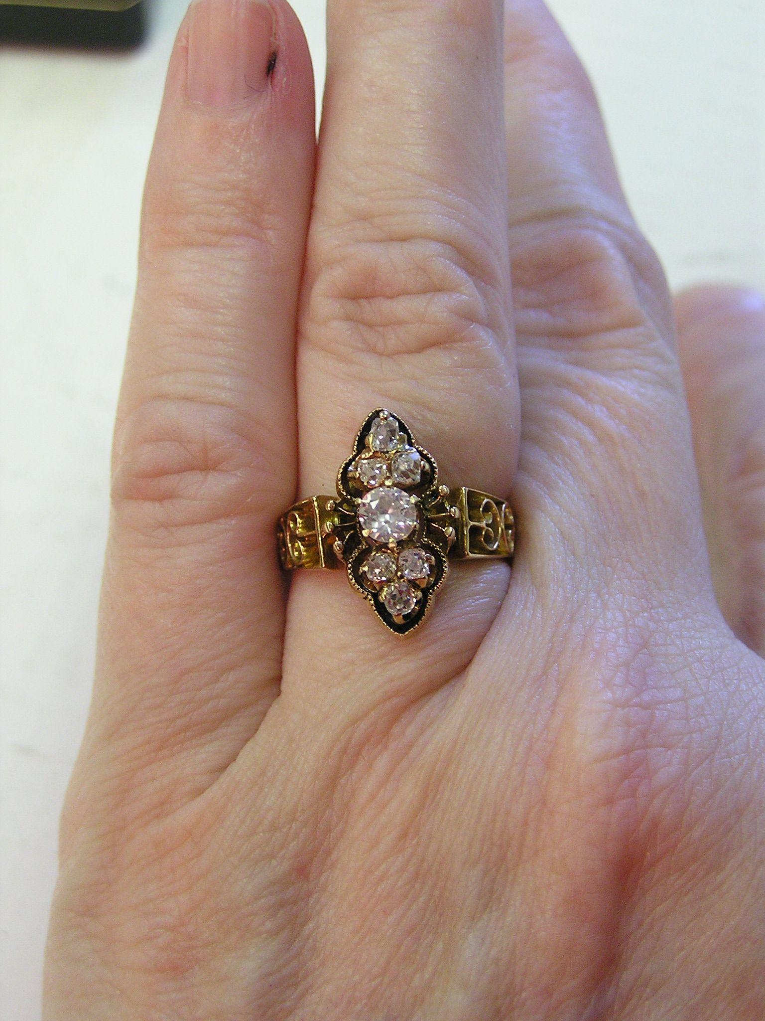 Civil war era engagement ring Jewelry Pinterest Ring Pearl