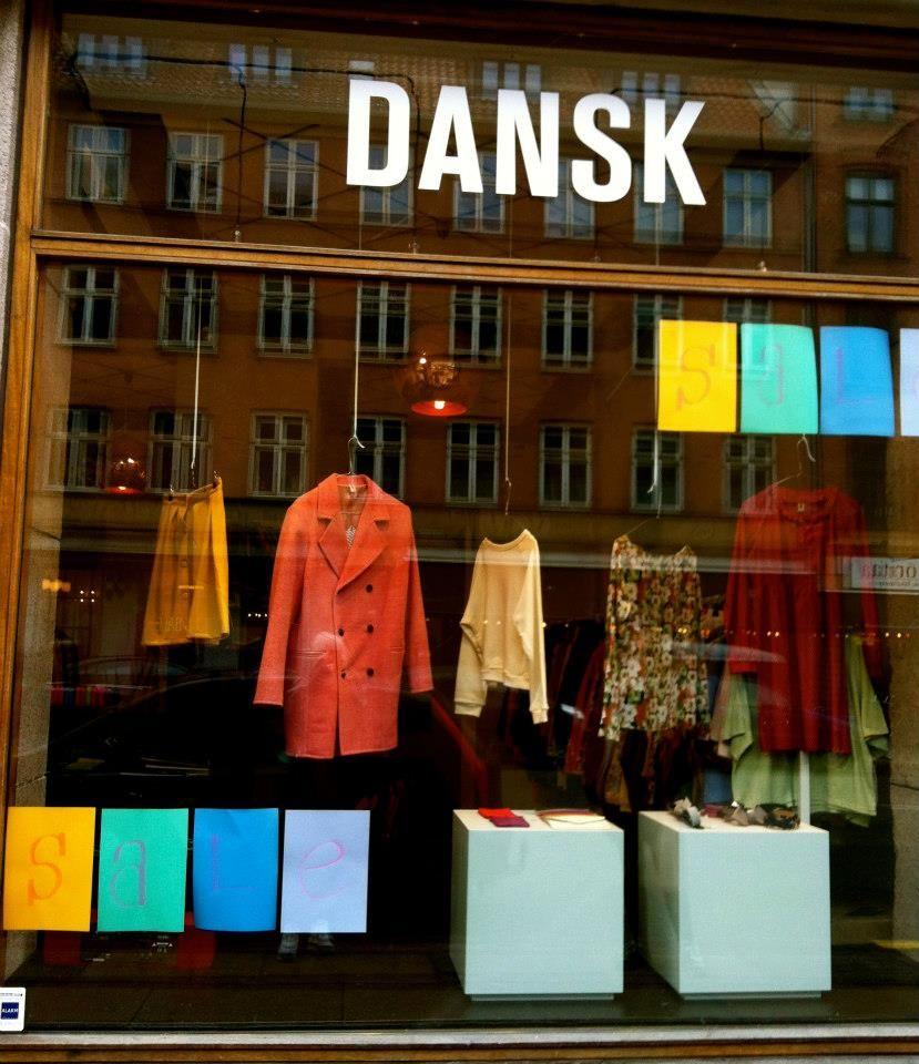 DANSK, Vesterbro, Copenhagen http://www.visitcopenhagen.com/copenhagenfashionshopping