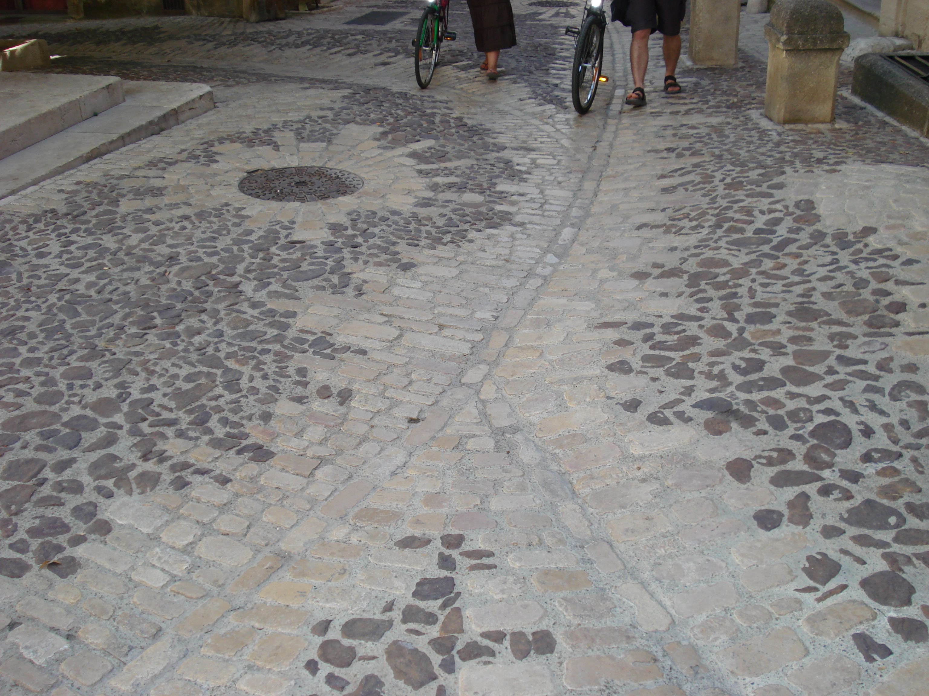 Concrete Cobble Street : Stone sett and cobble paving beautifully detailed surface