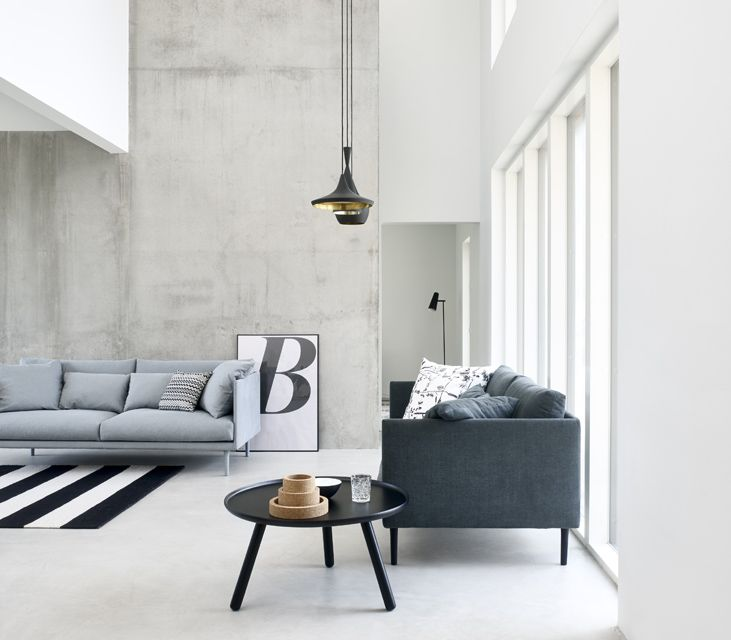 Living room inspiration | Normann Copenhagen Tablo coffee table available at www.istome.co.uk