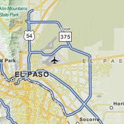 El Paso Texas Tx Zip Code Map Locations Demographics List