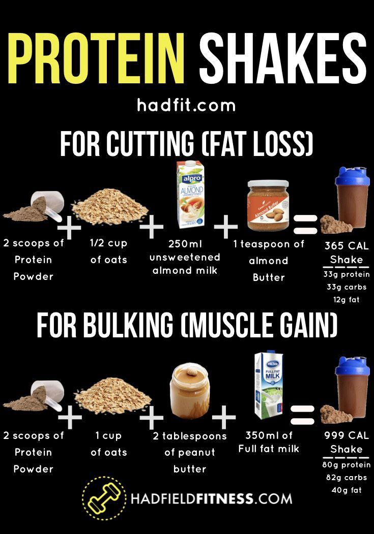 protein shake diet muscle gain