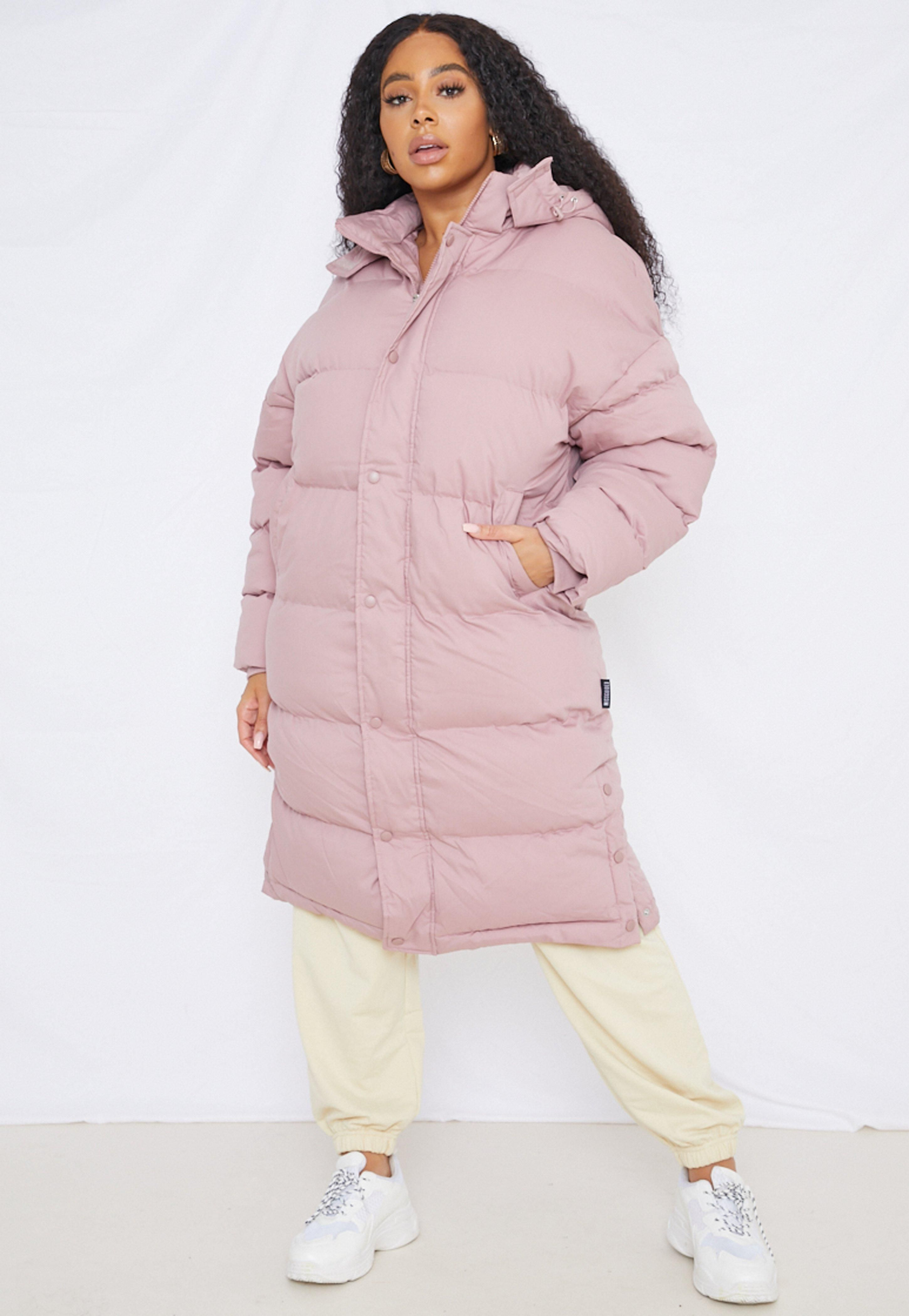 Missguided Plus Size Mocha Longline Padded Puffer Coat Long Puffer Coat Puffer Coat Outfit Grey Puffer Coat [ 4200 x 2900 Pixel ]