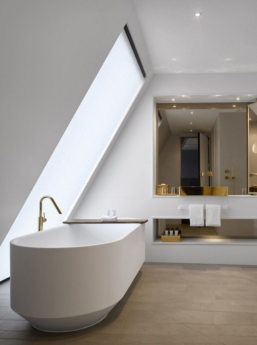 Adams Interieur Styling Nobu Hotel In London By Ben Adams Architects Bathroom Modern