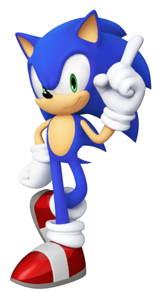 Sonic Generations Artwork Sonic Render 2 From The Official Artwork Set For Sonicgenerations On Ps3 3ds Xbox36 Sonic Sonic Generations Sonic Birthday Parties