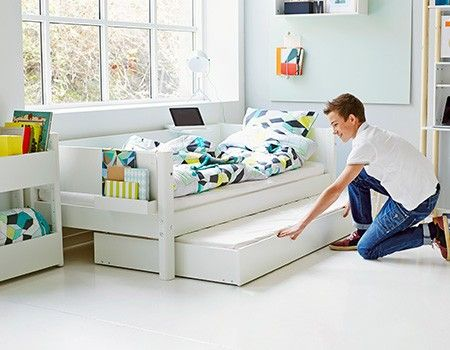Single Bed Picture Bed Kids Twin Bed Crib Toddler Bed