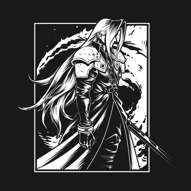 Cloud City 7 Sephiroth Japanese Characters Final Fantasy Vii