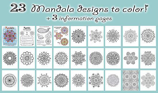 All Mandala Coloring Pages   Proiecte de încercat   Pinterest ...