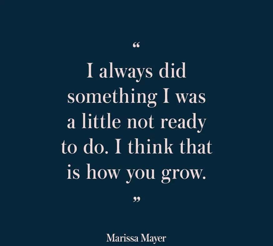 Doing Things Outside Of Your Comfort Zone Is How You Grow With