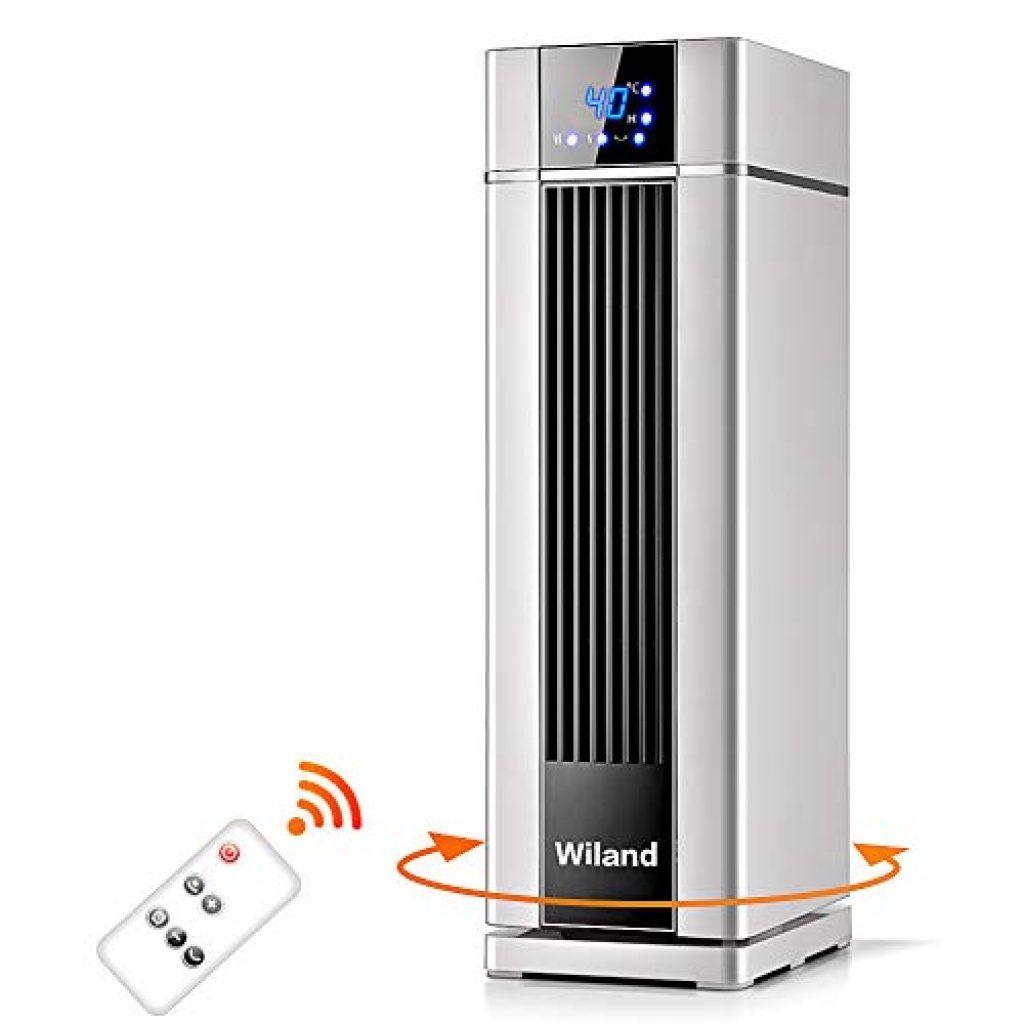 Chauffage Ceramique 360 Surround Avec Telecommande Et Thermostat Chauffage Electrique Radiateur Vertical Chauffage