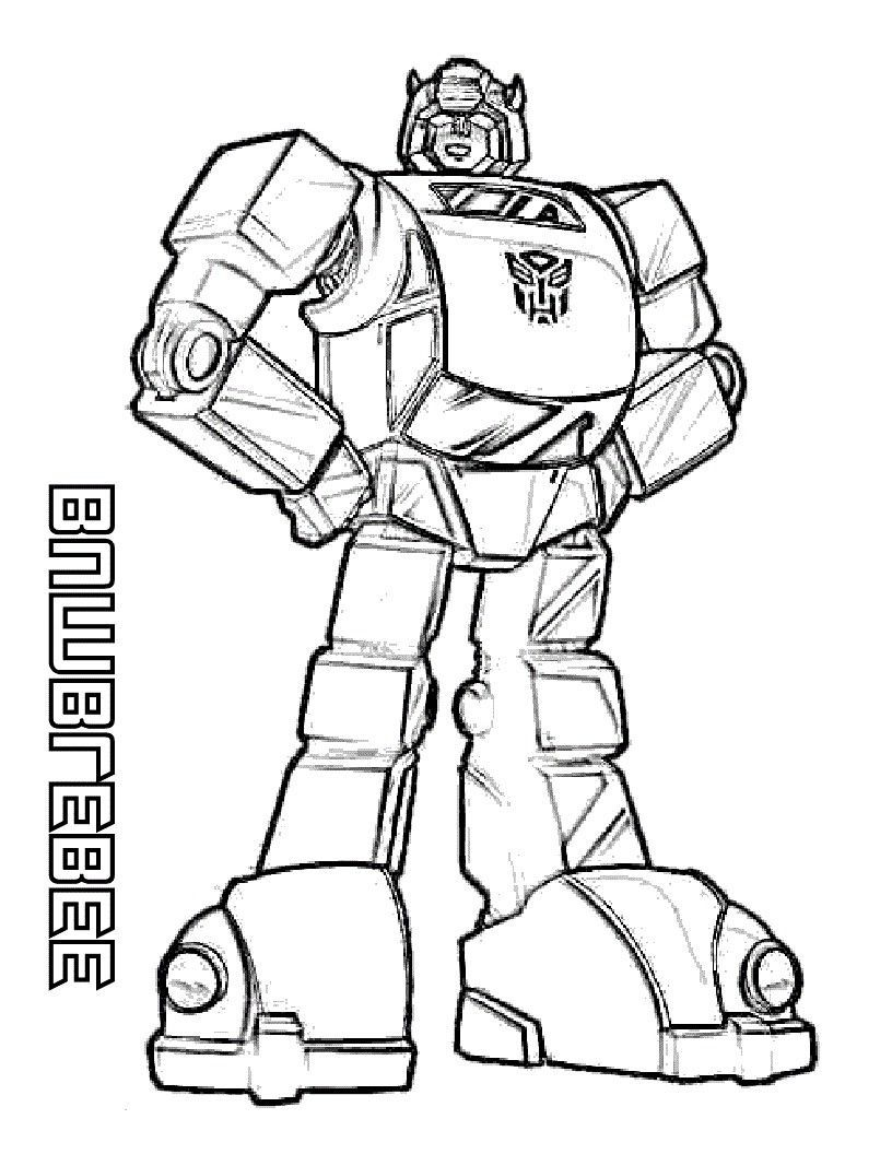 Transformer Coloring Book Transformers coloring pages