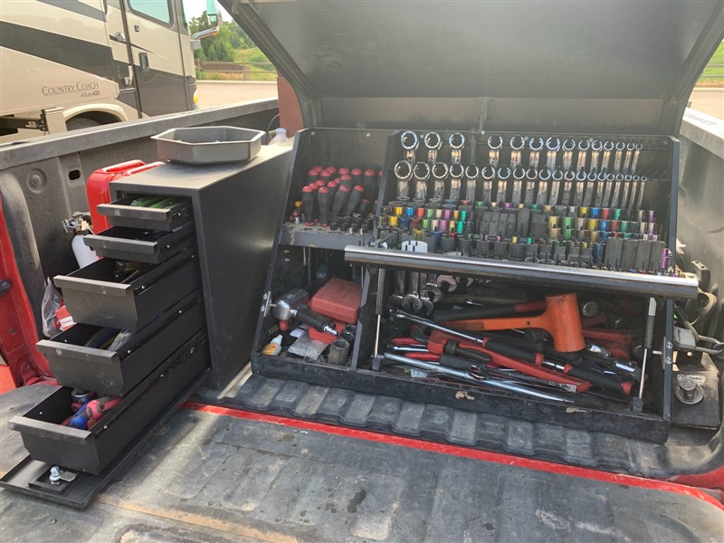 Use The Montezuma Triangle Toolboxes In Your Workspace Or Mount To A Vehicle Truck Tool Box Truck Organization Work Truck Organization