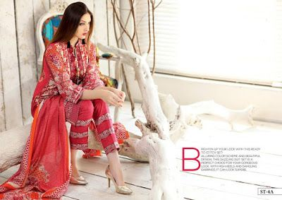 Beauty Tribe Shariq Textile Subhata Embroidered Lawn Cool Print Fashion Asian Fashion Indian Fashion