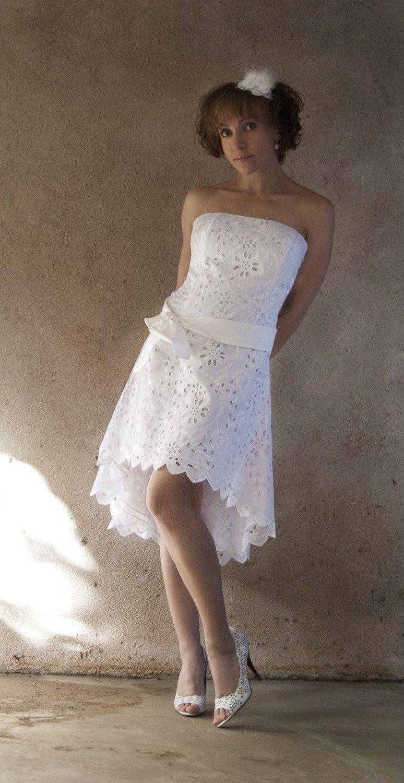 Cotton Eyelet Wedding Dress Anna Wear It Again Summer Sample