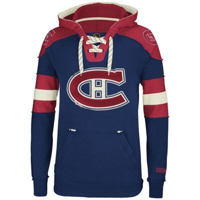 the best attitude b2777 ad790 Montreal Canadiens Reebok Pullover Hoodie – Navy Blue ...
