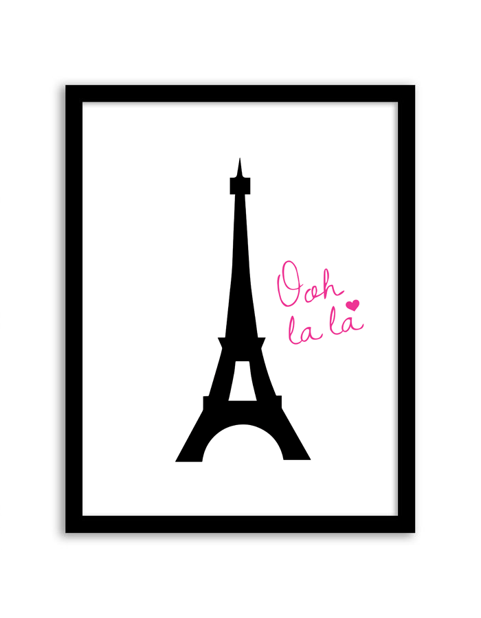Free printable eiffel tower wall art printable pictures for Wall art templates free