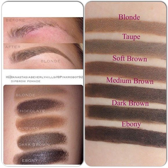 Anastasia eyebrow pomade colors-3163