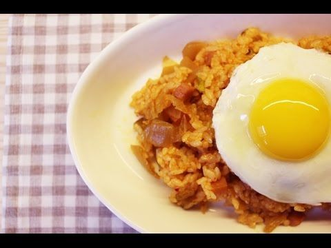 How to make Kimchi Fried Rice :: 김치볶음밥.
