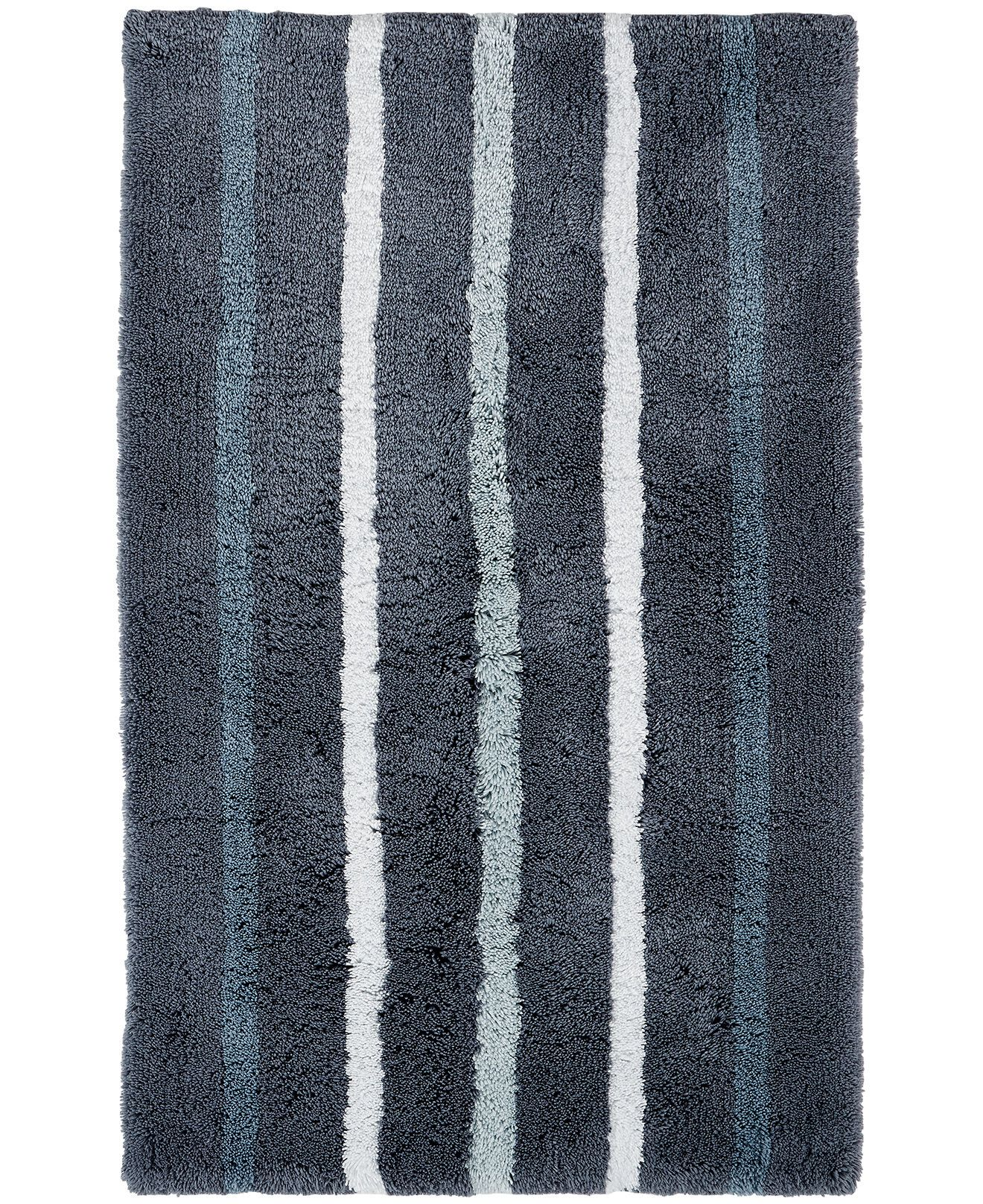 Hotel Collection Fashion Contrast Striped Rugs Bath Rugs