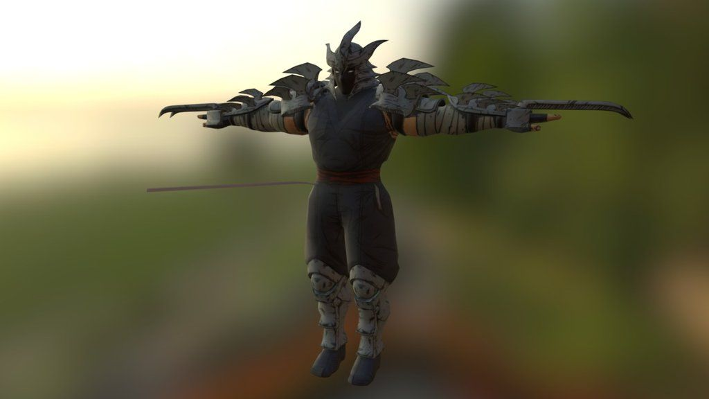 TMNT MIM PC Ripper Boss Shredder Model and Textures Downloads Ok