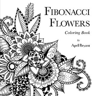 Fibonacci Flowers Coloring Book