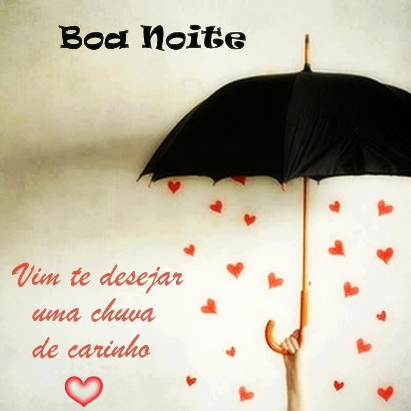 Vim Te Desejar Uma Chuva De Carinho Boa Noite E Doce Sonhos