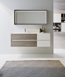 ideagroup nyu mobile bagno moderno sospeso vari colori componibile ... - Colori Bagno Moderno