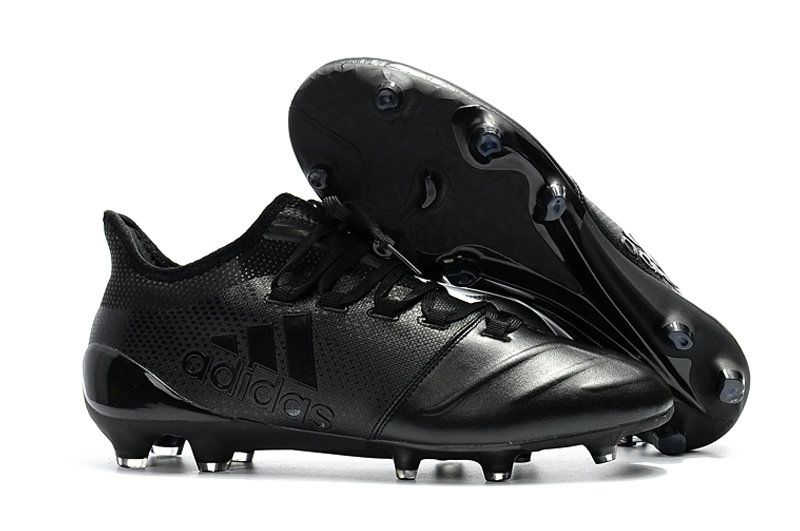 the best attitude 31c1e a581d 2018 FIFA World Cup Russia Adidas X 17 1 Leather FG All Black