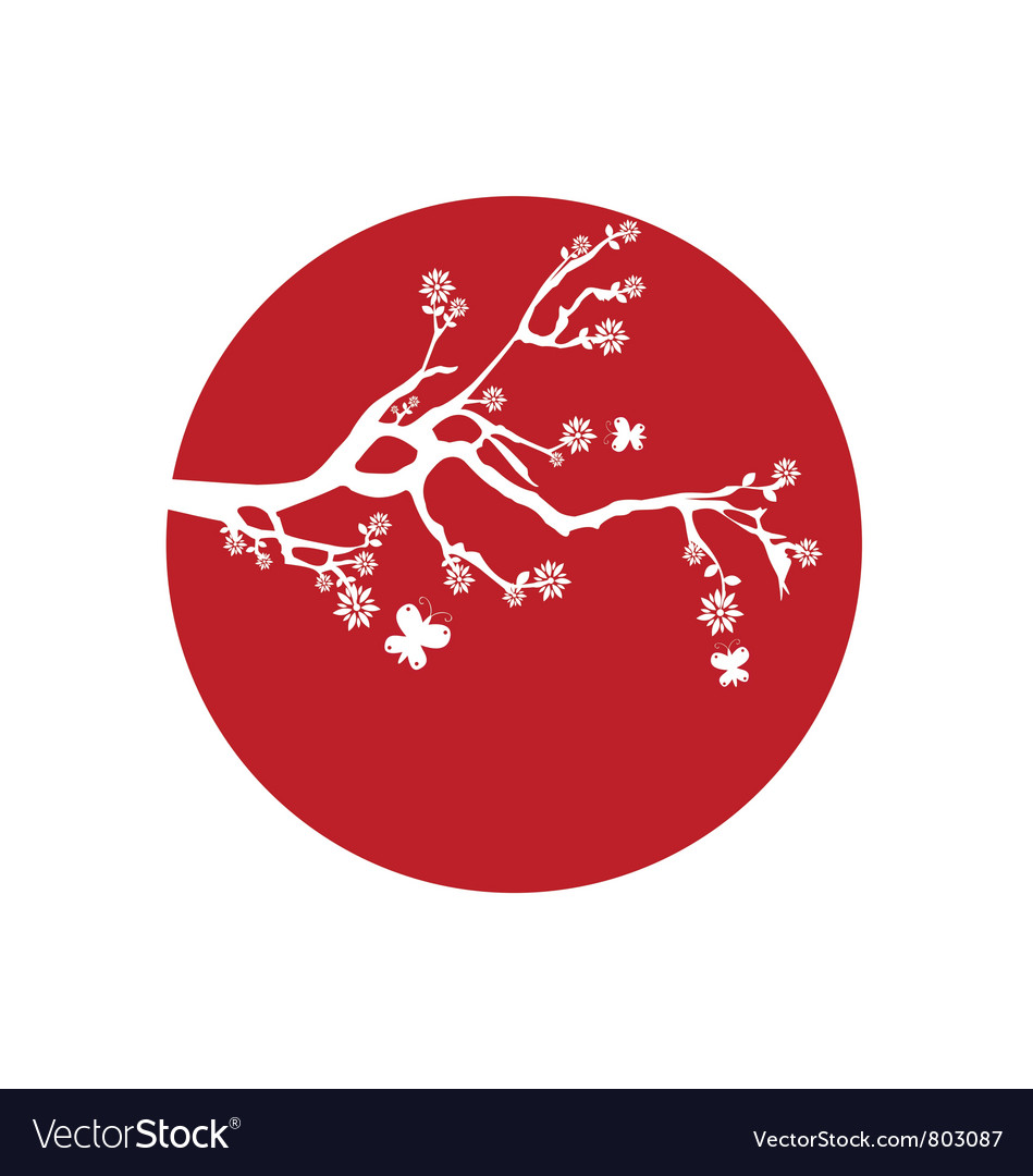 Japanese Flag Royalty Free Vector Image Japanese Flag Flag Vector Free Vector Images
