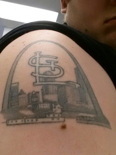 Better image of st louis skyline tattoo | Tattoos | Skyline tattoo ...