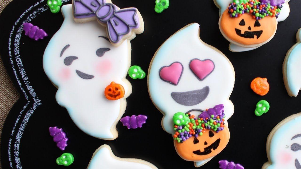 Ghost Emoji Cookie//Icing Cutter